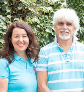 Irene Born & Augustin Zimmermann des Physiotherapeuten-Team