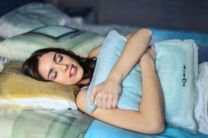 Entspannter Schlaf